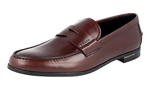 Prada Herren Braun Leder Business Schuhe 2DA119 42.5 EU/UK 8.5