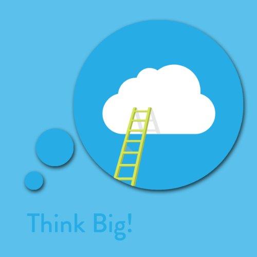 Think Big! Dream and Achieve Big Affirmations audiobook cover art