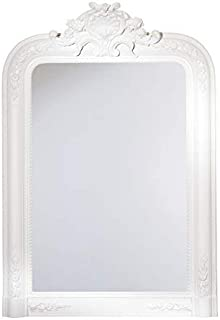 MO.WA Miroir miroir mural rectangulaire style classique Louis Philippe avec cadre Finition blanc total. Made in Italy. Mes...