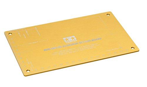 タミヤ ミニ四駆限定 ミニ四駆 HGアルミセッティングボード (ゴールド) 95201