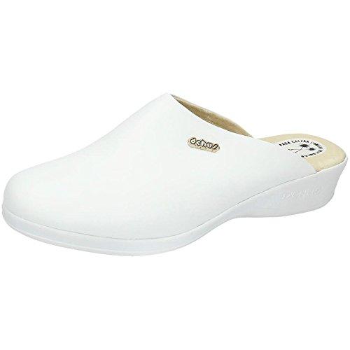 MADE IN SPAIN 6090 Zueco ANATÓMICO CHUS Mujer Calzado Trabajo Blanco 40