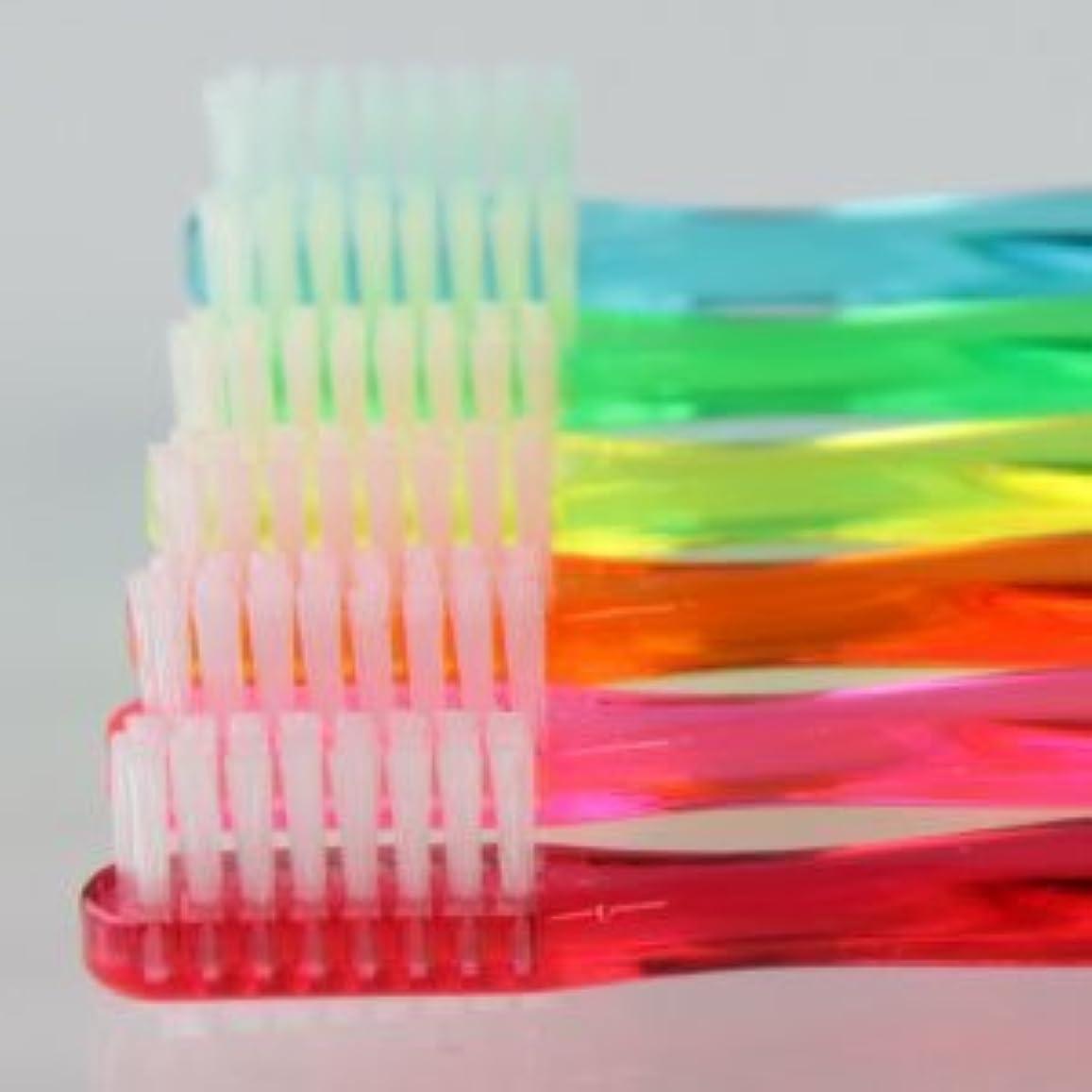 グラフィックきれいにコンパスサムフレンド 歯ブラシ #11(乳歯?永久歯の混合歯列期向け) 6本 ※お色は当店お任せです