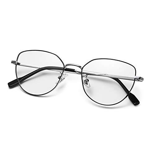 AVAWAY Moderne Blaulichtfilter Brillen für Damen Frauen Computerbrillen Anti Strahlung gegen Augenschmerzen Kopfschmerzen