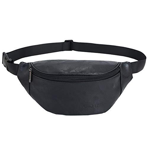 Riñonera Cinturón Retro Fanny Pack Impermeable Bolso