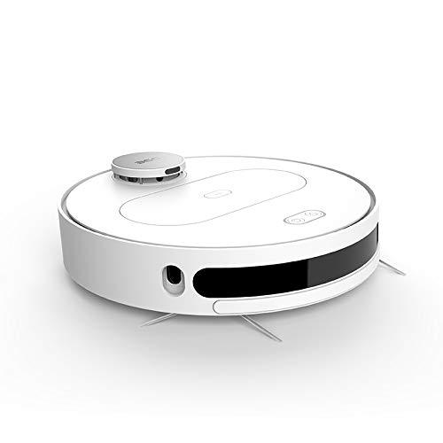 360 S6 Staubsauger Roboter mit Wischenfunktion (APP Steurung, LDS, Wischroboter mit Intelligenter Navigation, 1800Pa Saugleistung, HEPA-Filter, Geeignet für Tierhaare, Teppiche und Hartböden) (Weiß)