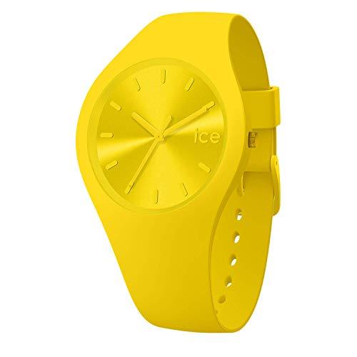 Ice-Watch - ICE colour Citrus - Reloj giallo para Hombre (Unisex) con Correa de silicona - 017909 (Medium)