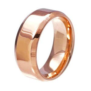 sr0073-17-widePINK [ブランド名:2PIECES] ステンレスリング 指輪 シンプル メンズ レディース ペア向き ((太)ピンク-17号)