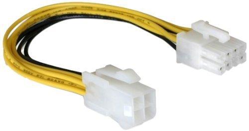 Kabel, PCI Express Stromversorgung 8pin EPS zu 4pin ATX/P4, Delock® [82405]