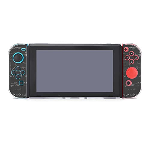 Case for Nintendo Switch,Science Board Protective Cover Case Compatible with Switch and Joy Con Controllers