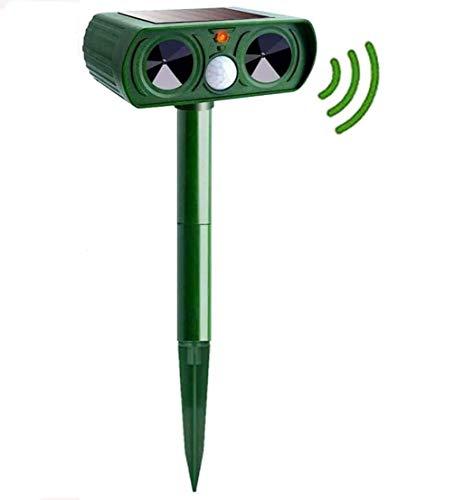 Kakeyi Solar Maulwurfabwehr, Ultrasonic Maulwurfschreck, Wasserdicht Solar Ultrasonic Tiervertreiber Maulwurfschreck für Wühlmausvertreiber, Wühlmausschreck, Wasserdicht Mole Repellent