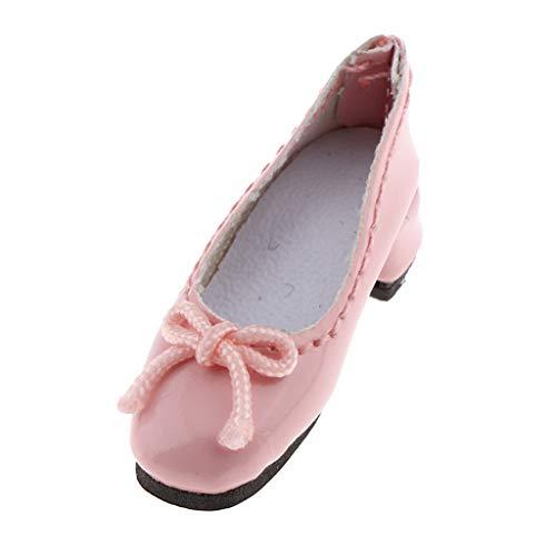 B Blesiya 1 Par Zapatos de Princesa de Tacón Alto con Bowknot...