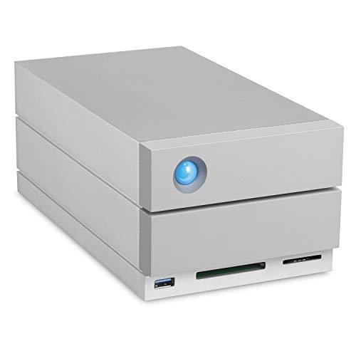 LaCie STGB32000400 Externe harde schijf systeem 32000GB met RAID en Cardreader, Thunderbolt, USB-aansluiting