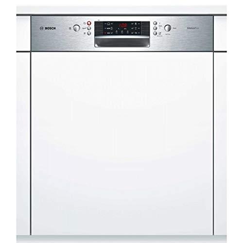 Lave vaisselle encastrable Bosch SMI46AS01E - Lave vaisselle tout integrable 60 cm - Classe A+ / 46 decibels - 12 couverts - Intégrable bandeau : Inox