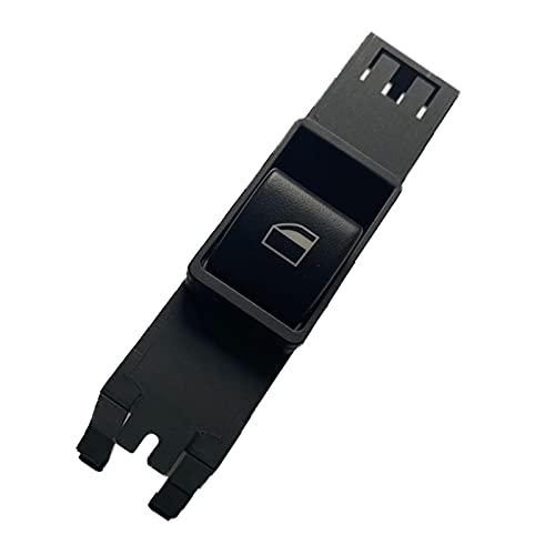 XINLIN Ruderude 61316902176 Interruptor de Ventanas de Potencia del Lado del Pasajero Delantero Ajuste para BMW 3 Series E46 Salón 1998-2002 2003 2004 2005 61 31 6 902 176