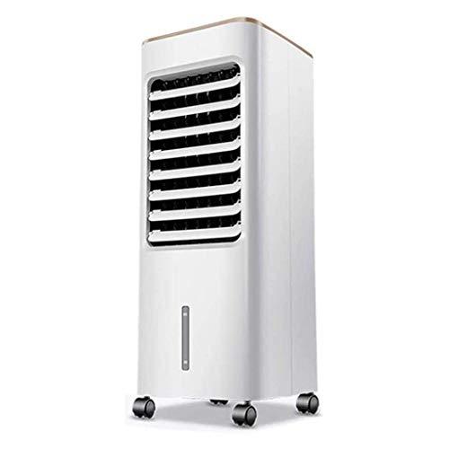 Verdunstungskühler, Haushaltskühlventilator mit Befeuchtungs- und Luftreinigungsfunktion, 50 W, 5-Liter-Wassertank, 7-Stunden-Termin, B.