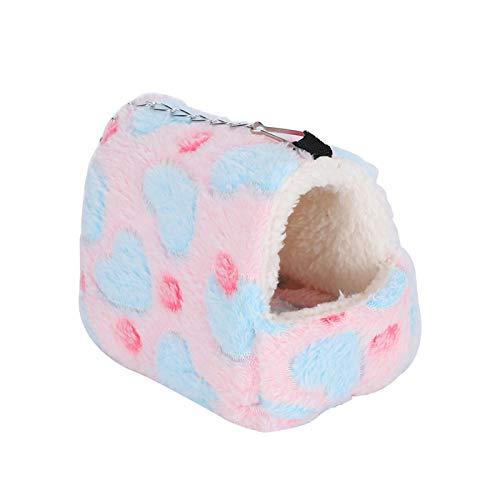 Jeanoko Pequeña cama colgante para mascotas cómoda lavable lindo para mini erizos S, M (opcional) (pequeño)