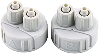 CloverUS DIY ABS CO2 System Kit Generator Part Bottle Cap with Tubes Light Weight