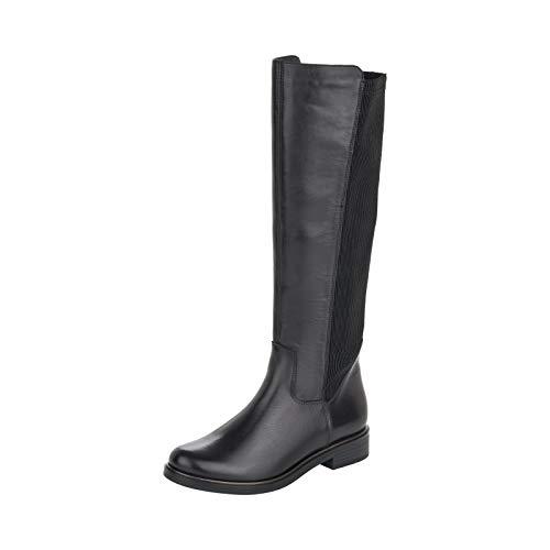Remonte Women's D8371 Knee High Boot, Schwarz/Schwarz/Schwarz / 01, 7 UK