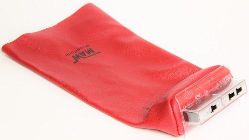 myMAW NH-Aufsteckgriff Sicherungseinsätze Leder-Stulpe rot 00 bis 4 Sicherung Aufsteck-Griff