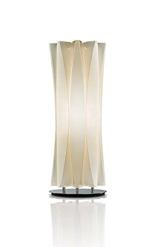 Slamp Kunststoff Tischleuchte/Slamp-Leuchten Bach in Gold | Handgefertigt in Italien | Tischlampe Modern | Lampe E14