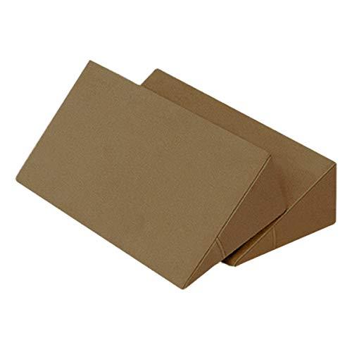 体位変換クッション 2個セット 日本製 綿100% 洗濯可能 床ずれ防止クッション 三角クッション 床ずれ クッション 体位変換 クッション 枕 体位変換枕 三角まくら 床ずれ予防 リハビリ 介護用クッション 7-TB-77-69-F (キャメル)