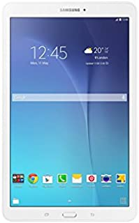 Samsung Galaxy Tab E SM-T561 Tablet - 9.6 Inch,8GB, 1.5GB RAM, Wifi, 3G, PEARL White