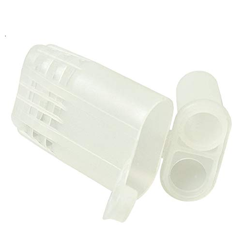 Sweet Bee 50 pcs JZBZ Queen cage Plastic Hair Roller Cages Non-Grafting Beekeeping Queen cage