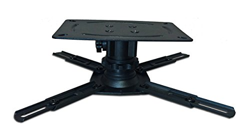 """STR-MOUNTSB Silver Ticket Products LCD/DLP Low Profile Universal Projector Mount (3"""" Low Profile)"""