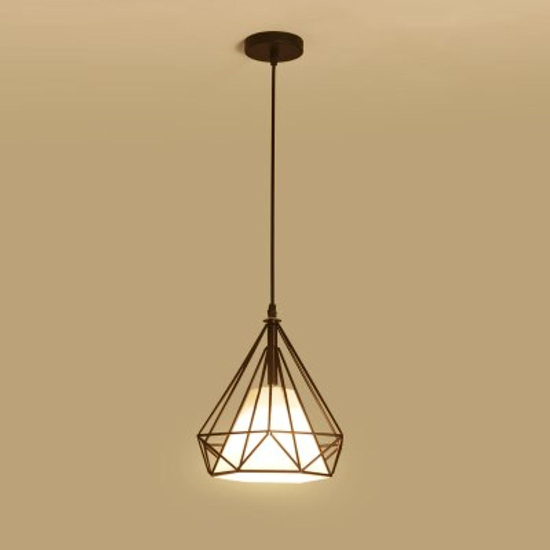 BESPD Amerikanische Kreative modernen minimalistischen Zimmer Kristall Kronleuchter Deckenlampe Pendelleuchte Orange 8013-2+9 W-Glühlampe