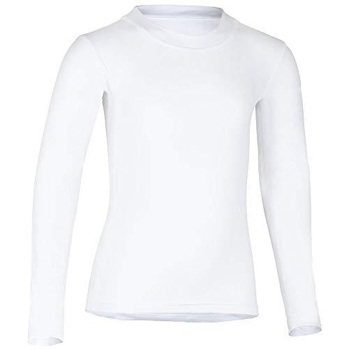 hyphen med KIDS Shellshirt UV-Schutz UPF 80 116/122 weiß