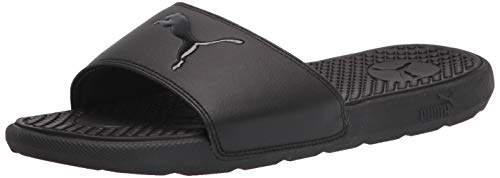 PUMA Womens Cool Cat Sport Casual Sandals Shoes, Black, 6