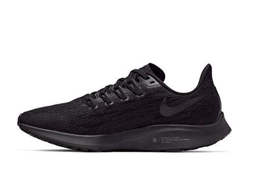 Nike Air Zoom Pegasus 36, Scarpe da Trail Running Donna, Multicolore (Black/Black/Oil Grey/Thunder Grey 6), 42.5 EU