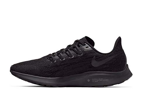 Nike Damen Air Zoom Pegasus 36 Traillaufschuhe, Mehrfarbig (Black/Black/Oil Grey/Thunder Grey 6), 37.5 EU