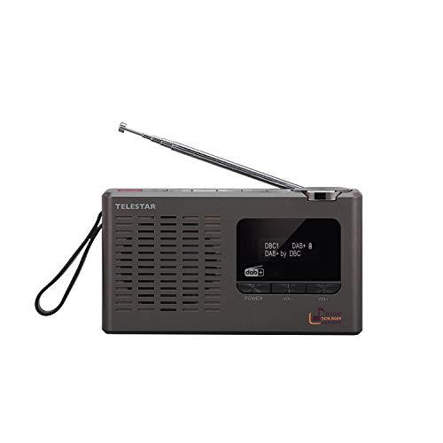 TELESTAR SCHLAGERPARADIES DAB+ Digital-Radio Sonderedition (mit Schlagerparadies Direktwahltaste, Teleskopantenne, Kopfhöreranschluss, zweizeiliges Display)