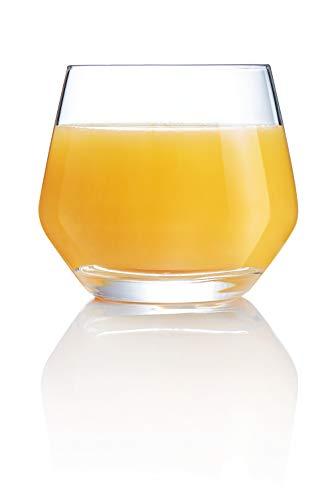 Chef & Sommelier ARC G3367 Lima whiskyglas, 350 ml, kristallen glas, transparant, 6 stuks