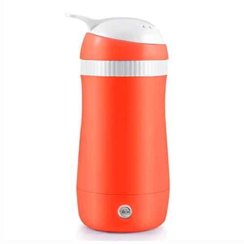 Tetera eléctrica, Taza eléctrica portátil, Tetera, Taza de Viaje con calefacción, Cocina eléctrica automática de Acero Inoxidable