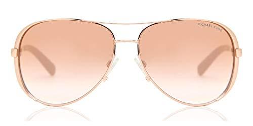 Michael Kors 0MK5004 Gafas, Oro Rosado 1, 59 para Mujer