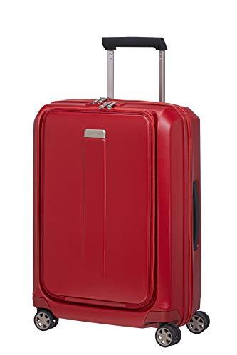 Samsonite Prodigy Spinner 55 Maleta de Mano expandible, 55 cm, 47 L, Rojo (Red/Naranja)