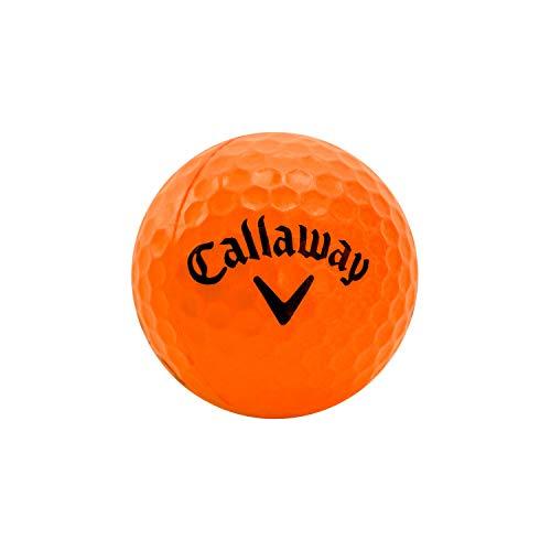 Callaway–Palline Soft Flight con Motivo Esagonale (Confezione da 9), Unisex, HX, Orange