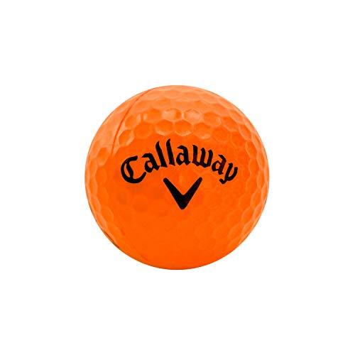 Callaway HX 9-Pack Practice Ball, Orange