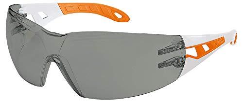 Uvex Pheos S Gafas Protectoras - Seguridad Trabajo - Lentes Oscuros Anti-rayaduras y Anti-vaho
