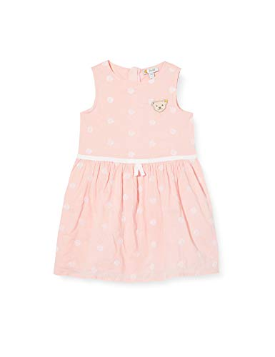 Steiff Mädchen Kleid, Rosa (Powder Pink 7010), (Herstellergröße: 122)