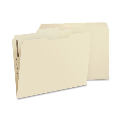 Smead Fastener File Folder, 1 Fastener, Reinforced 1/3-Cut Tab, Letter Size, Manila, 50 per Box (14534)