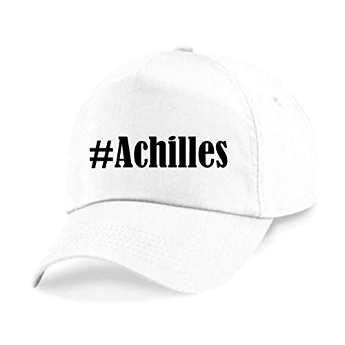Reifen-Markt Base Cap Hashtag #Achilles Größe Uni Farbe Weiss Druck Schwarz