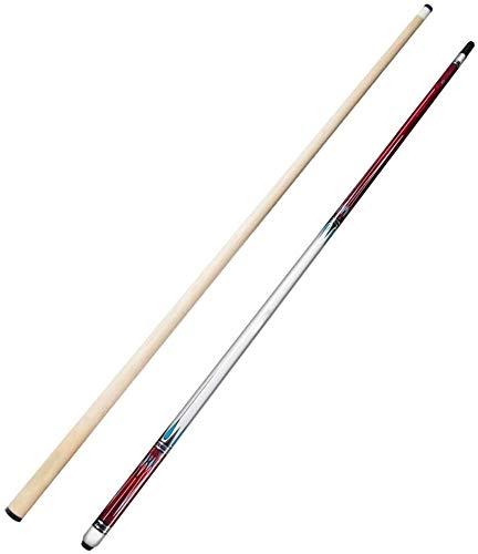 YAOJIA Pool-Billardqueues 1/2 Fugen-Pool-Cue Mit 13-mm-Tipps  58 Zoll 19-20 Unze Billard Pool Stick for Schulbillard Club Sport Billard Queue (Color : Dark Red, Size : Rod)