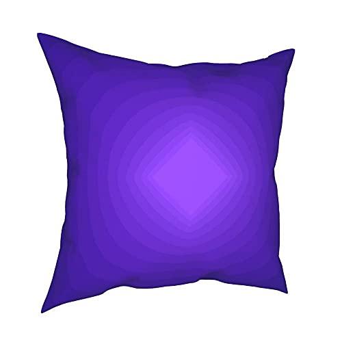 SFDGBTH P-Norm Discos de Funda de Almohada Decorativa ionizada, 18 x 18 Pulgadas, cojín de Lino Cubierta de Almohada Cuadrada, Adecuada para decoración del hogar del sofá de Coche