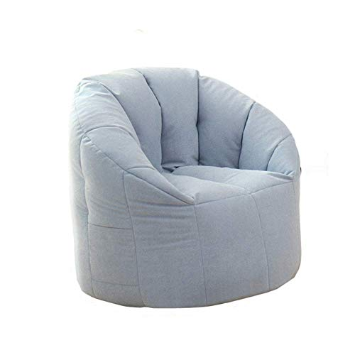 WALNUT Kids Beanbag Chair – Outland Classic Gaming Children's Bean Bag Dual Zip System Teflon Coated Polyester