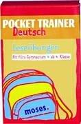 Pocket Trainer Deutsch. Leseübungen: Fit fürs Gymnasium, ab 4. Klasse