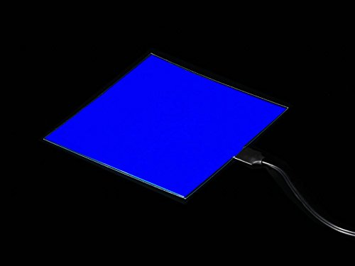 Adafruit Electroluminescent (EL) Panel - 10cm x 10cm Blue [ADA624]