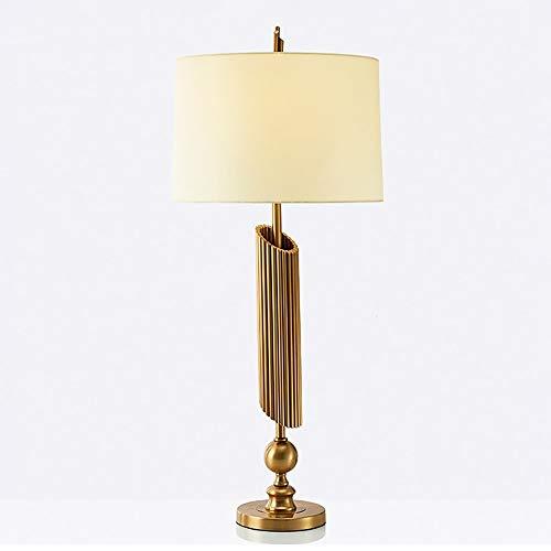 De enige goede kwaliteit Decoratie Eenvoudige Creatieve Warm Bureau Lamp Post Moderne Retro Ontwerp Studie Woonkamer Slaapkamer Strijkijzer Decoratieve Tafellamp 42 * 95cm